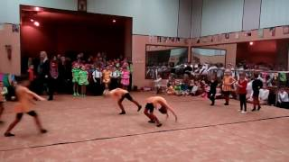 Старый цирк. Открытый урок, младшая группа, часть 2, от 20.01.2017