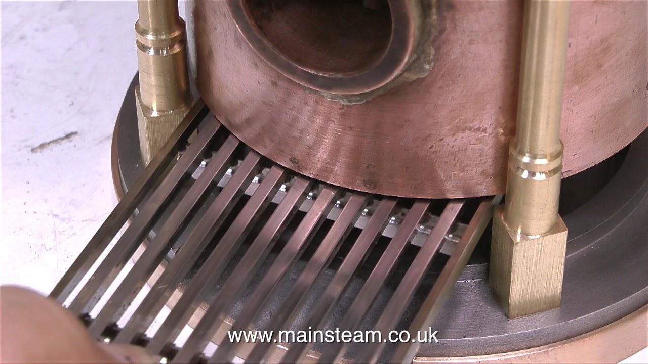 how to make a steam engine boiler