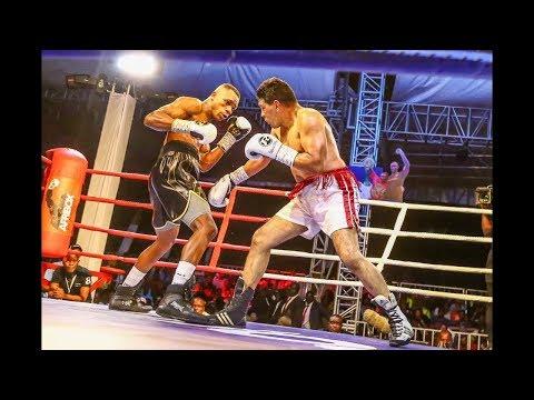 Full Video: Mwakinyo alivyomtwanga mzungu kwa TKO Kenya