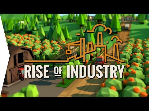 Rise of Industry ► Transport Tycoon plus Anno Gameplay - [Gamer Encounters]