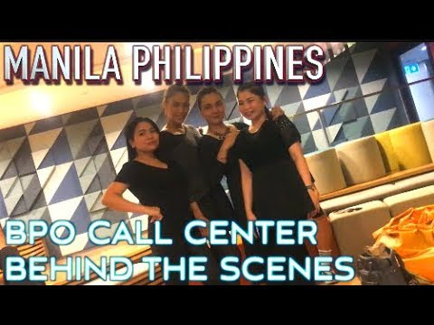 Manila BPO- Behind the scenes in an offshore Call Center | Philippines