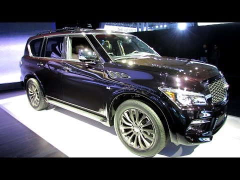 Nissan Armada Interior Pictures - 2015 Infiniti QX80 Limited - Exterior and Interior Walkaround - Debut at 2014 New York Auto Show