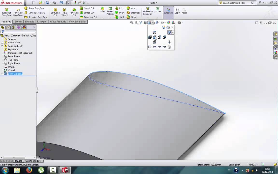 Ep 1 - How to build a wing in solidworks starting from coordinates