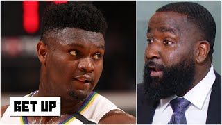 Kendrick Perkins is impressed with Zion's motor and 'brute strength' | Get Up