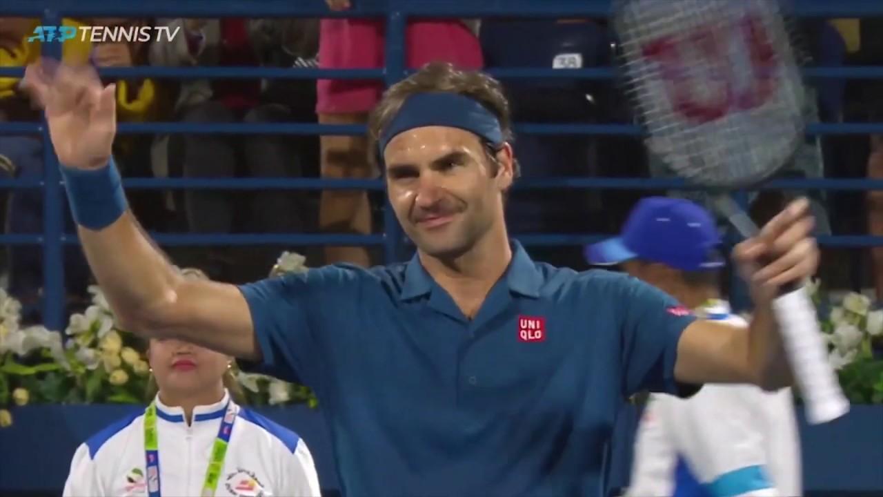 bbbc0cb7 Roger Federer Best Shots In Win Over Kohlschreiber | Dubai 2019. Tennis TV