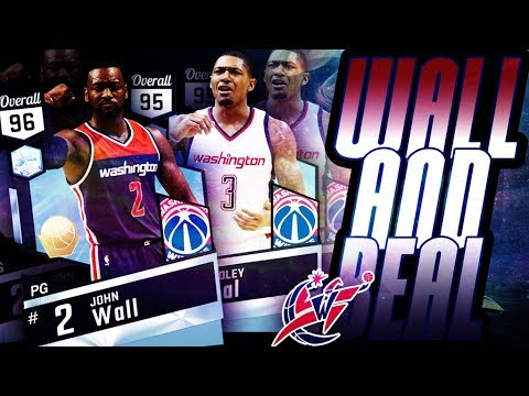 DIAMOND JOHN WALL & BRADLEY BEAL GAMEPLAY!!!! BEAL SPLASHES 7 THREES! DIAMOND WALL OVER WESTBROOK?
