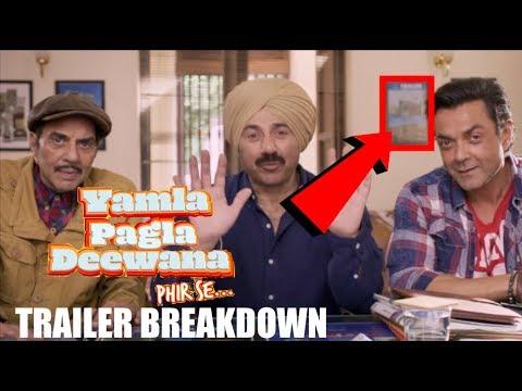 Yamla Pagla Deewana Phir Se Trailer Breakdown  Dharmendra   Sunny Deol   Bobby Deol