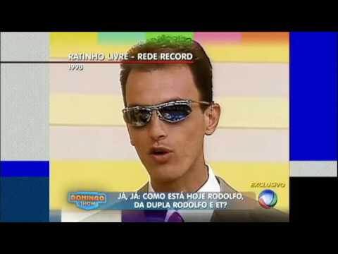 Rodolfo revela detalhes de sua trajetória na TV ao lado de seu parceiro ET