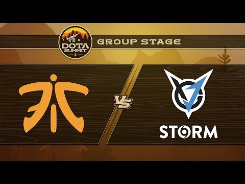 Fnatic vs VGJ.Storm Game 2 - DOTA Summit 9: Group Stage