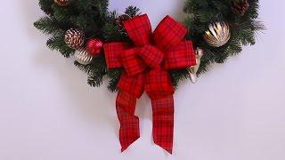 كيفية جعل عيد الميلاد القوس