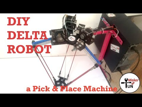 Delta Robot : DIY Pick & Place Machine With Software