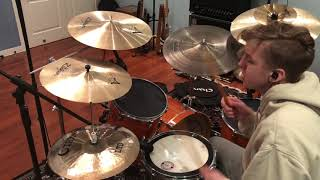 Sticks and Stones | Kings Kaleidoscope | Drum Cover | SamBrant Drums