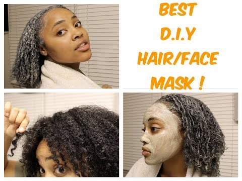 Bentonite Clay On Natural Hair & Skin  Review and Demo