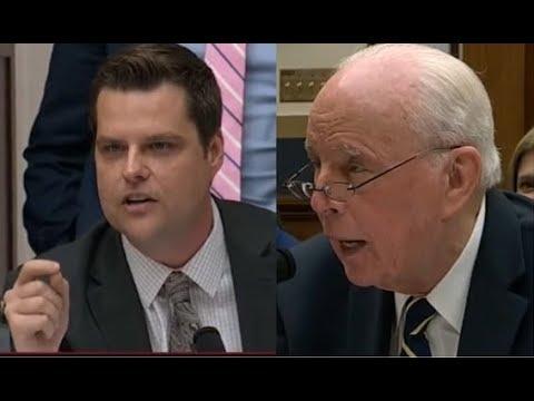The Morning Rush - Florida Rep. Gaetz Grills John Dean At House Hearing