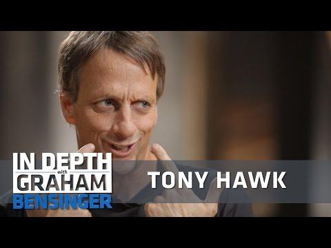 Tony Hawk on dirty needles, bad spaghetti, lockjaw