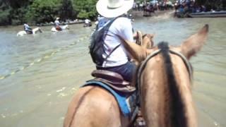 Cavalgada do CAVALO PANTANEIRO Poconé-MT 2014