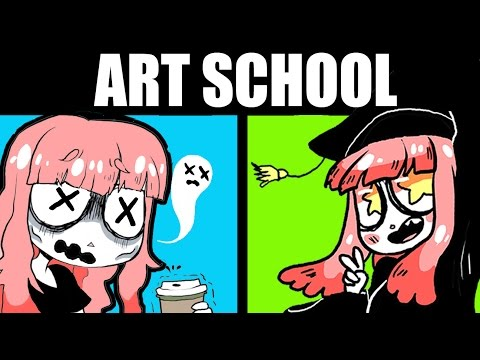 THE 5 WORST THINGS ABOUT ART SCHOOL (+ The Best!)