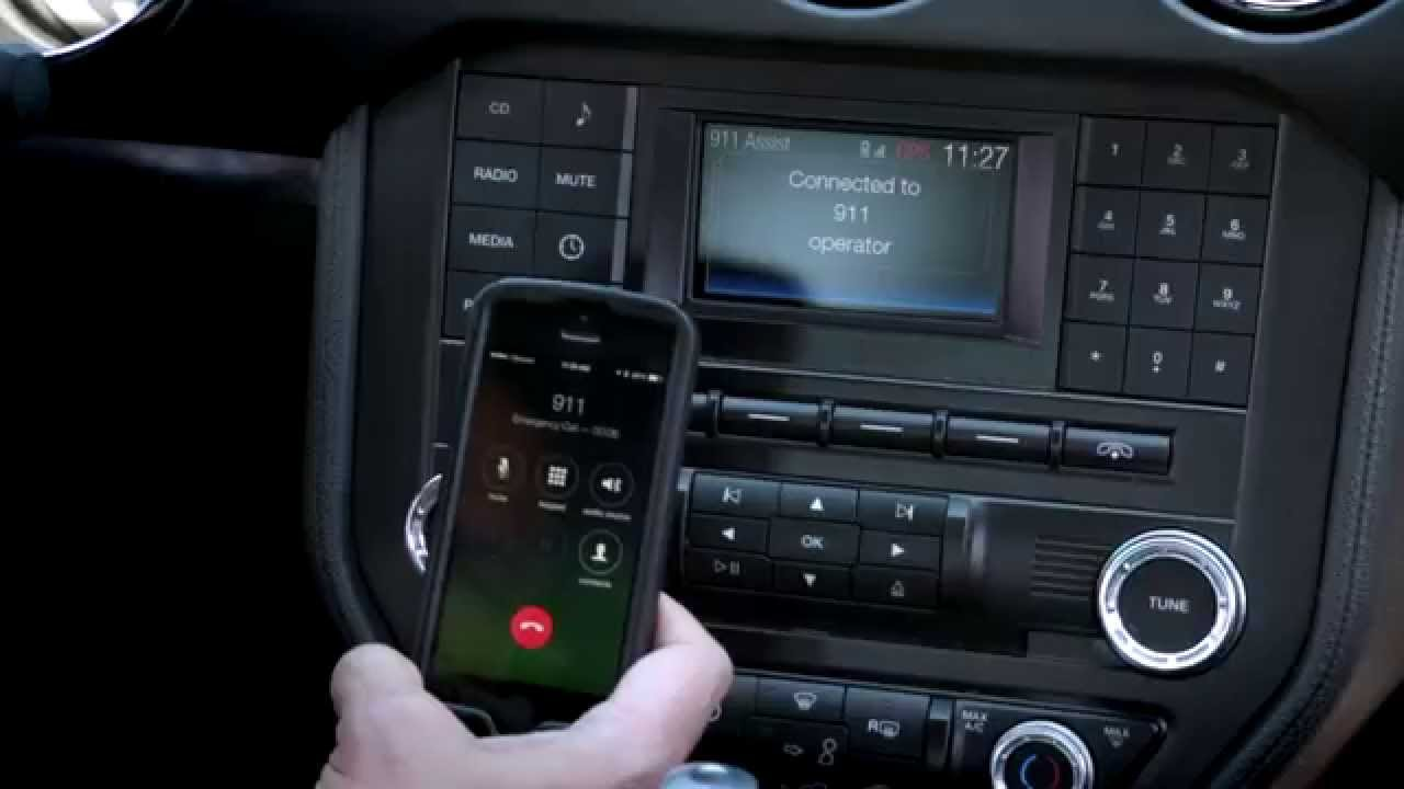 2015 ford mustang delivers updated sync 911 assist youtube. Black Bedroom Furniture Sets. Home Design Ideas