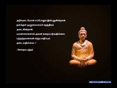 Gautama Buddha Quotes Tamil Whatsapp Status88 Youtube