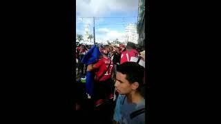 أجواء جماهير النجم الساحلي بالمغرب قبل مبارات الوداد البيضاوي