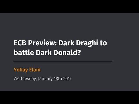 ECB Preview: Dark Draghi to battle Dark Donald?