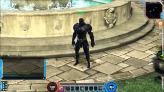 Marvel Heroes - Black Panther - Vibranium Armor Costume