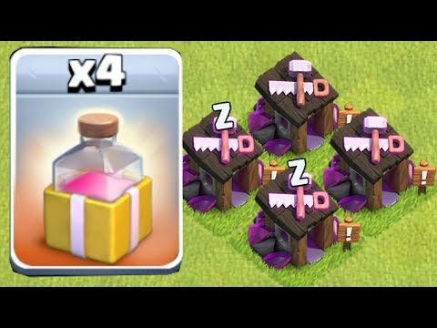 NEW SPELL!! & WIZARD BUILDER!! | Clash of clans | New update!!