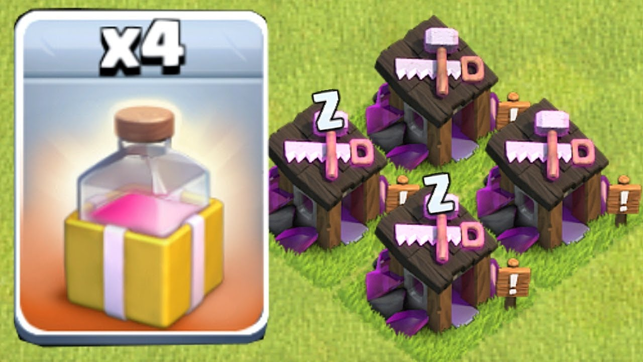 New Spell Wizard Builder Clash Of Clans New Update