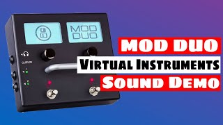 MOD DUO As A Virtual Instrument (VA & FM Synth, Rompler...) Sound Demo | SYNTH ANATOMY