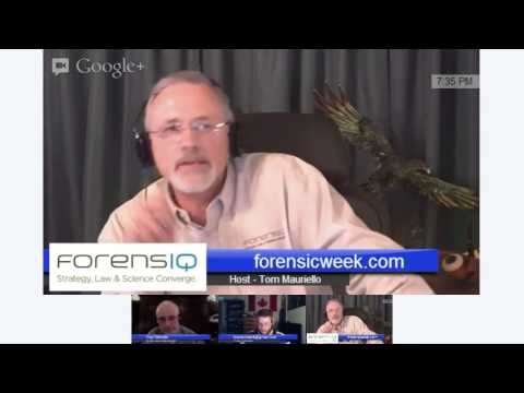 The forensicweek.com Show - Episode 005 [Computer Forensics and Cyber Security]