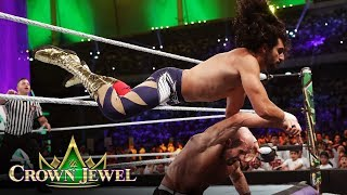 Mansoor puts on a show for his home crowd: WWE Crown Jewel 2019 (WWE Network Exclusive)