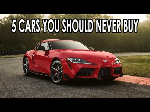 5 Modern Cars That You Should Never BUY