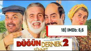 Gelmiş Geçmiş En İyi 31 Türk Komedi Filmi
