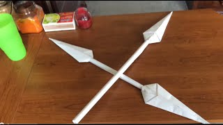 How to Make a Cool Paper Spear