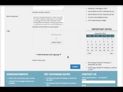 ZenChange Social Media Engine Walkthrough