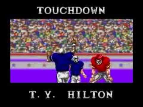 The Colts Pull Off The Second Largest Comeback In NFL History...According to Tecmo Super Bowl