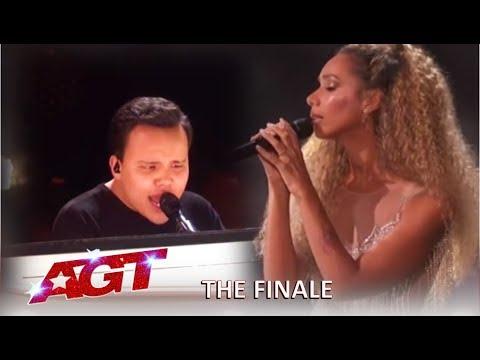 Kodi Lee With Leona Lewis Grand Finale Performance! | America's Got Talent 2019