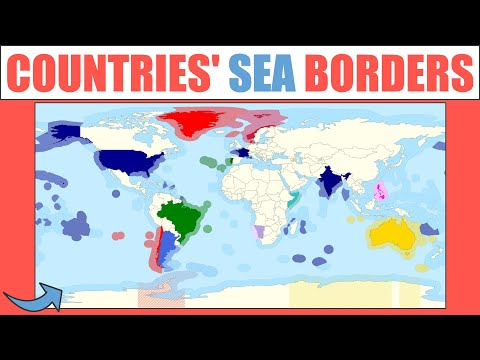 How Do Countries' Sea Borders Work?