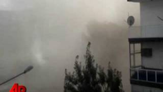 Raw Video: Demolition in Turkey Goes Wrong