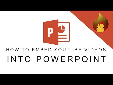 How to Embed Youtube Videos into Powerpoint    POWERPOINT