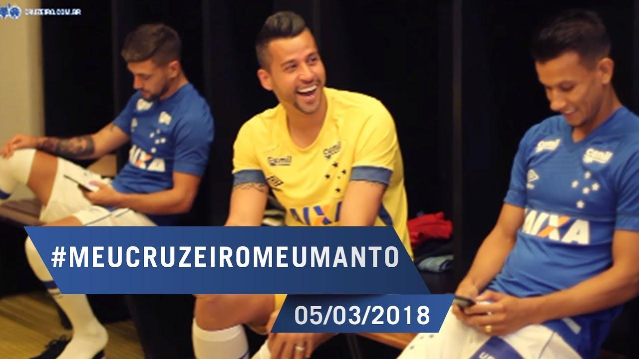 05 03 2018 - Making Of  Novo Manto Cruzeirense  MeuCruzeiroMeuManto ... d2f915fee6cfa