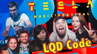 LQD Code - TESLA Music Festival . Drum and Bass