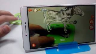 New AR Educational Toy For Child Zoo 3D Animal Cards