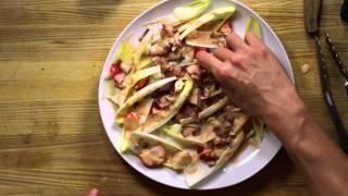 """Endive """"hand"""" Salad   20 Second Recipes   Agymlife.com"""