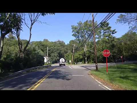 Driving from Glen Head to Oyster Bay in Nassau,New York