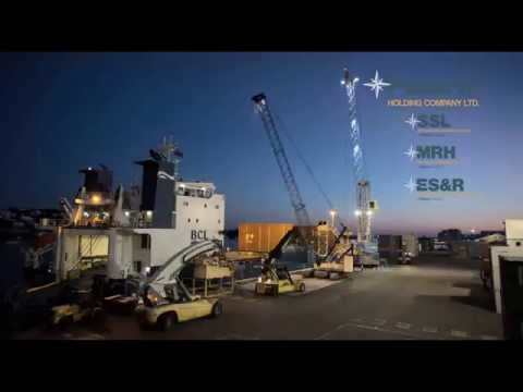 Bermuda Stevedores at work - Time lapse of dockworkers in action