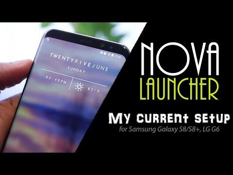 My Nova Launcher Setup | Requested Video | U Droid Mania