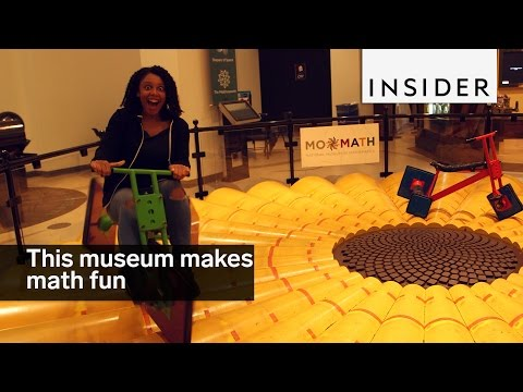 This museum in NYC makes math fun