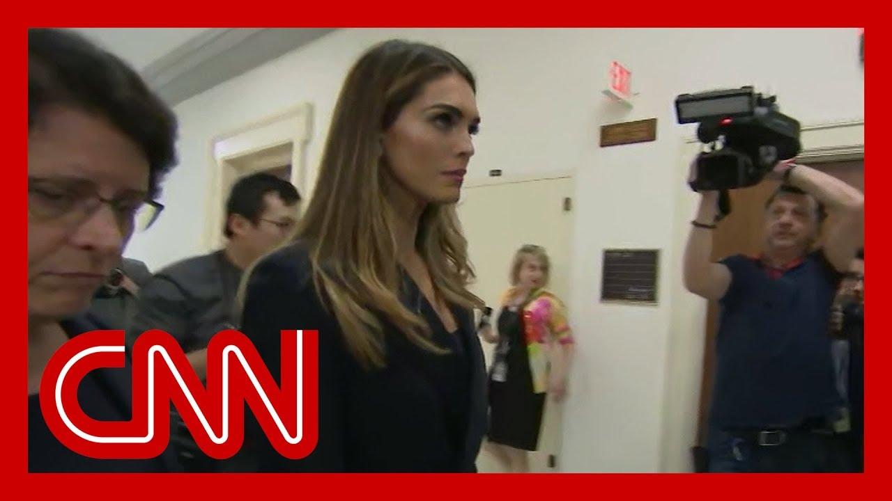 Ex-Trump confidante Hope Hicks testifying before Congress