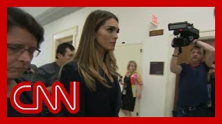Ex-Trump confidante Hope Hicks testifying before Congress